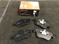 FORD MONDEO VOLVO S60 XC70 S80 FREELANDER FRONT BRAKE PADS 2007 ONWARDS  BREMBO