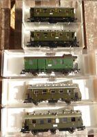 Fleischmann 5767,5769 etc.H0 Konvolut Personenzug der DRG Ep.2 in OVP, gebraucht