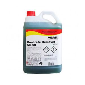 Agar Concrete Remover CR-60 5L - No Odour & No Fumes, Organic Acid Cleaner