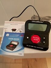 Cpr Call Blocker 202 Block Unwanted Telemarketer Robo Callers All-in-One