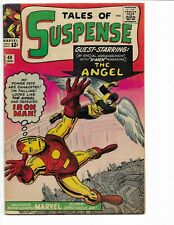 TALES OF SUSPENSE 49 - F- 5.5 - 1ST X-MEN CROSSOVER - 1ST AVENGERS X-OVER (1964)