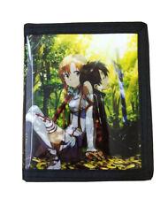 Sword Art Online PU Leather Wallet / Kirito, Asuna (SWO-B2B)