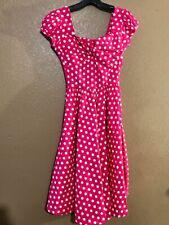 MUXXN Boutique Small Women Retro Vintage Inspired Sleeveless Party Swing Dress