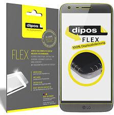 3x LG G5 Schutzfolie, 100% Displayabdeckung, dipos Flex Folie Displayfolie