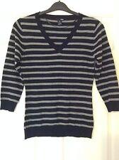 H&M Women's V Neck 3/4 Sleeve Jumpers & Cardigans