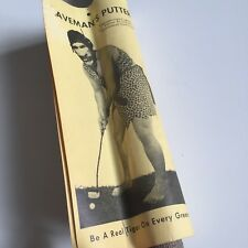 Vintage 1966 Cavemans Putter Leister Game Co. Gag Gift Golf New! Be a Real Tiger