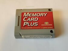 Memory Card Plus Performance Nintendo 64 N64 P-375AE