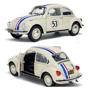 1/18 Solido VW Volkswagen Beetle 1303 Racer N°53 1973 Neuf Livraison Domicile