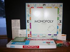 1961 Parker Brothers Monopoly Real Estate Trading Game COMPLETE EUC