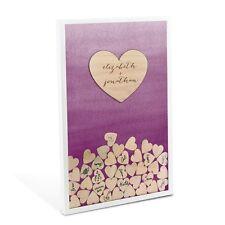 Aqueous Personalized Wedding Drop Box Wedding Guest Book Alternative