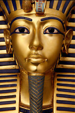 EYGPT EYGPTIAN  Tutankhamun ANCIENT A1 SIZE PRINT vintage  art painting