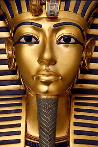EYGPT EYGPTIAN  Tutankhamun ANCIENT  SIZE PRINT vintage  art painting