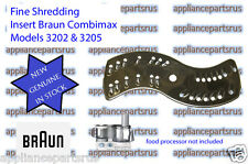 Braun Fine Shredding Insert Part 7000491 67000491 BR67000491 Models 3202 3205
