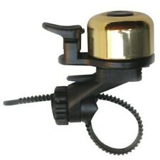 Crane Flex Tite Brass PING Bicycle Bell Listen Made in Japan f ROAD BIKE w QR