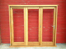 Solid Oak Bi-Folding Doors! Made to Measure! Easy sliding hardware! Quality!