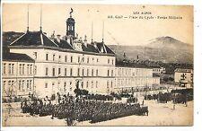 CP 05 HAUTES-ALPES - Gap - Place du Lycée - Revue militaire