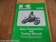 Kawasaki KX60 Motorcycle Race Preparation & Tuning Manual