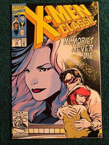 MARVEL COMICS 1992 X-MEN CLASSIC ISSUE #78 LOW GRADE