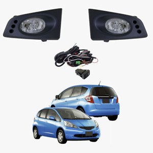Fog Light Kit for Honda Jazz GLI/VTI GE 10/2008-03/2011 W/Wiring&Switch