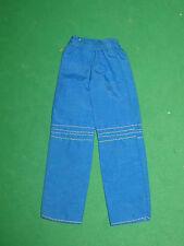 SKIPPER FASHION -BLUE NYLON PANTS