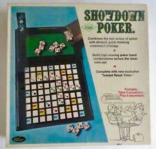 Vintage Showdown Poker Dice Board Game