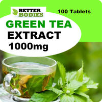 Green Tea Extract High Strength 1000mg Weight Loss Diet Slimming 100 pack