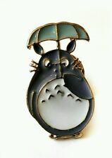 Il mio vicino TOTORO studio ghibli smalto pin badge Ombrello 25mm