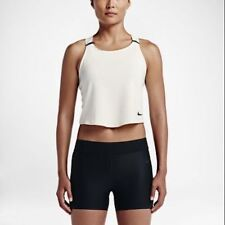 Nike Lab Essentials Baselayer tank top - sail & black. Adult M RRP of £50!