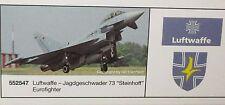"""Herpa 1:200  -  Luftwaffe Jagdgeschwader 73 """"Steinhoff""""  Eurofighter     552547"""