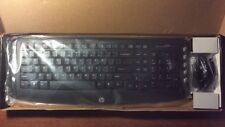 Genuine HP Wireless Classic Desktop Keyboard and Optical Mouse - No USB Nano