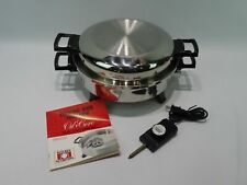 VINTAGE REGAL WARE KITCHEN NUTRITION OIL CORE ELECTRIC SKILLET NO. K7271