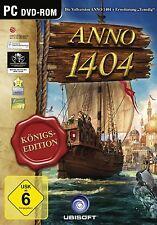 "Anno 1404 - Königsedition inkl. Add On ""Venedig"" - PC Game - *NEU*"
