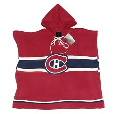 Montreal Canadiens NHL Cute Knitted Cowl Hood Poncho Sportin Styles Hockey - 833