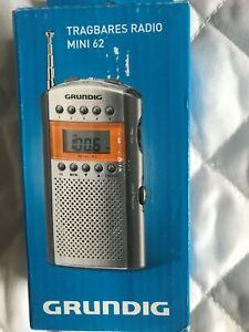 GRUNDIG TRAGBARES PORTABLE RADIO MINI 62