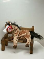 TY Beanie Baby Oats The Horse With Tag Retired   DOB: July 5th, 2000