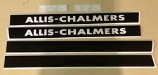Allis Chamler 175 hood decals