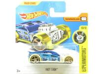 Hotwheels Fast Cash Experimotors Blue 51/365 Short Card 1 64 Scale Sealed New