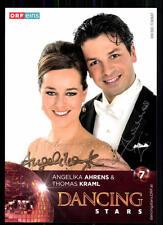 Angelika Ahrens & Thomas Kraml Dancing Stars Autogrammkarte Original ## BC 7941