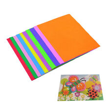 10x DIY Kids EVA Foam Handmade A4 Thick Sponge Multicolor Craft Paper Sheet 2018