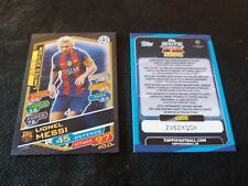 MESSI MATCH ATTAX CHAMPIONS LEAGUE 2016 2017 LIMITED GOLD + CODE EUROPE EDITION