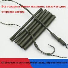 30Pcs Carp Fishing Accessories Anti Tackle Terminal Ronnie Hair Rig Tube Aligner