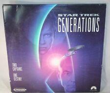 Laserdisc {e} * Star Trek: Generations * AC-3 Patrick Stewart William Shatner