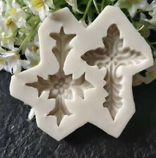 Silicone Christening Cross Mould Cake Decoration