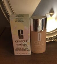 Clinique Even Better Makeup SPF15 Evens Corrects 30ml - 24 Linen New In Box