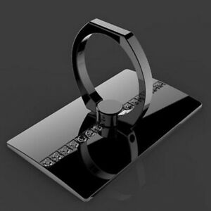 360°Rotating Finger Ring Cell Phone Holder Mount Kickstand Desktop Universal