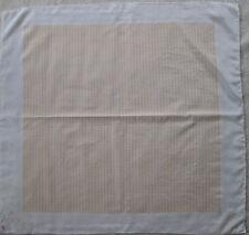 -Authentique Foulard WELLENDORFF 100% soie  TBEG  vintage Scarf 75 x 78 cm