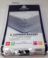 Coprimaterasso Fodera con Cerniera 2Piazze/1Piazza Cotone Stretch Armata Di Mare