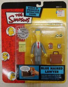 Simpsons World of Springfield Figure BLUE HAIRED LAWYER, NIP! Playmates (8B)
