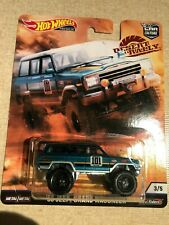 Hot Wheels Jeep Grand Wagoneer 88 Car Culture Premium Real Riders Desert Rally