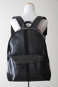 Authentic Coach Charles Backpack with Baseball Stitch Style # F11250